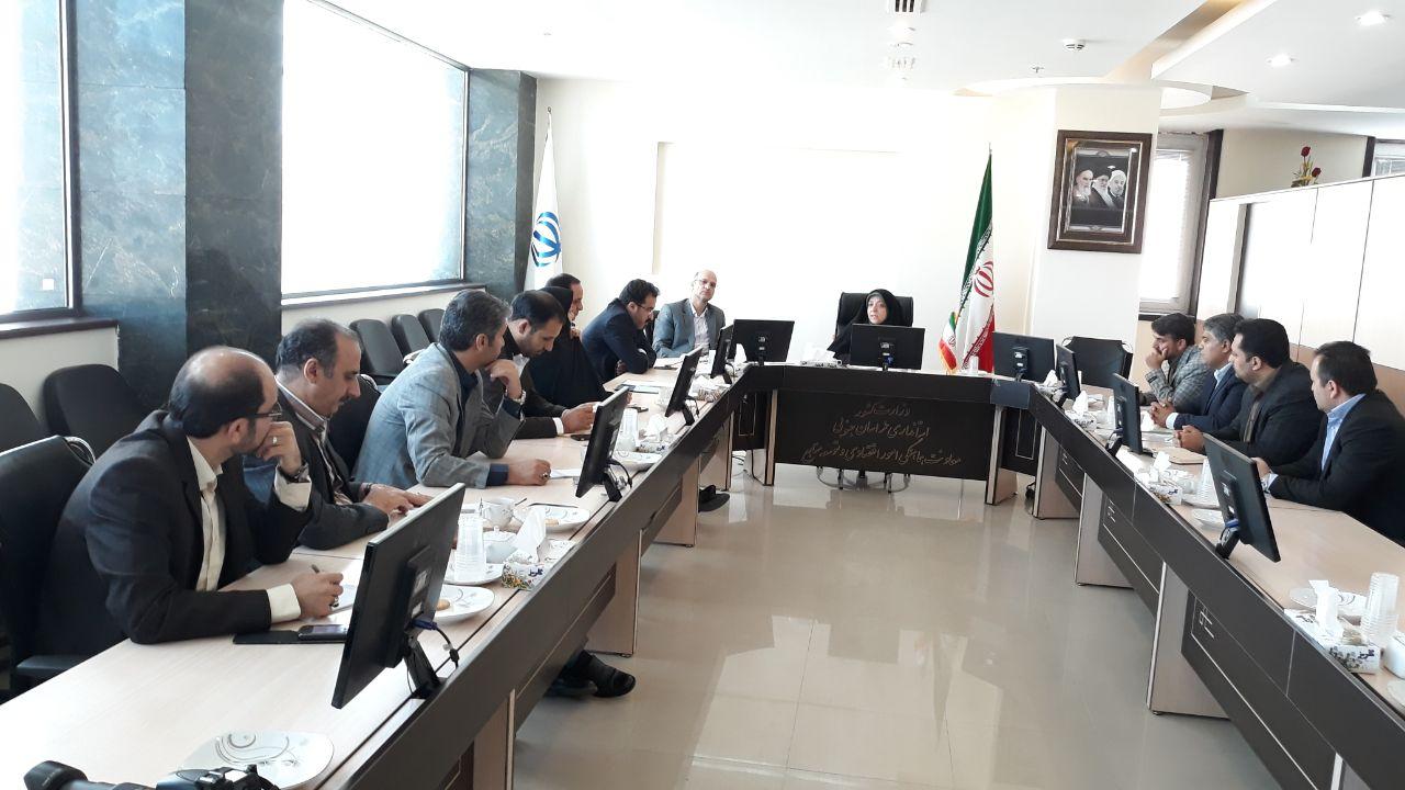 جلسه هماهنگي براي برگزاري جشنواره گل نرگس در شهرستان خوسف  با حضور معاون هماهنگي امور اقتصادي و توسعه منابع استانداري
