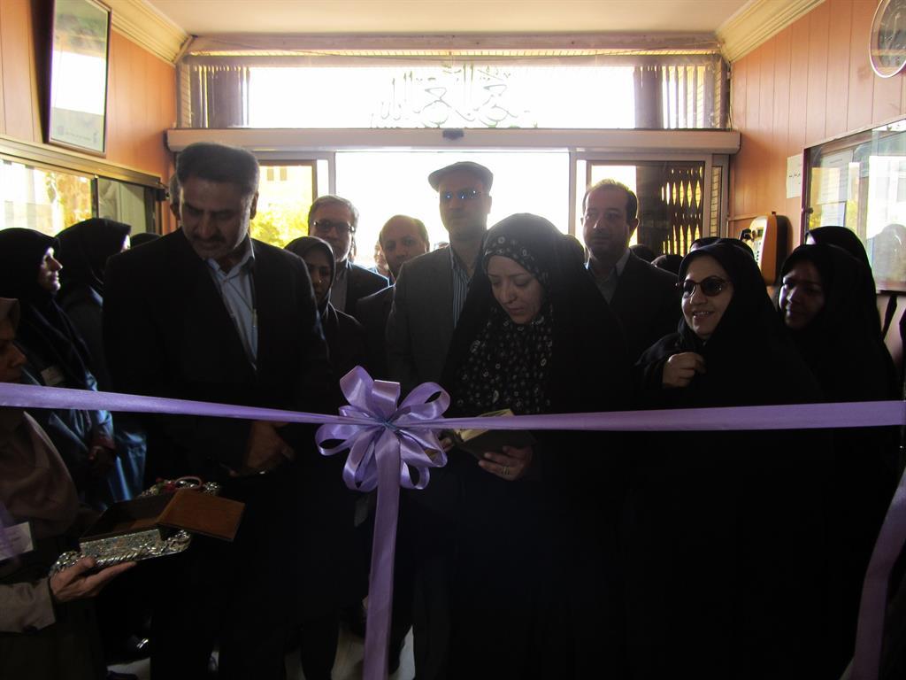 افتتاح نمايشگاه مهارت و اشتغال به مناسبت هفته ملي مهارت